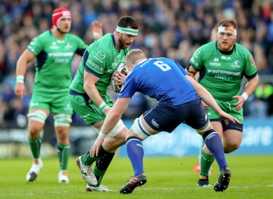 Leavy was one of the standout performers for Leinster.