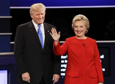 The candidates will have a second debate this coming Sunday.