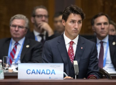 Canadian Prime Minister Justin Trudeau wasn't sure if he could book flights to Europe or not, due to the uncertainty around the trade agreement CETA.