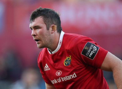 Peter O'Mahony returned for Munster last weekend against Zebre.