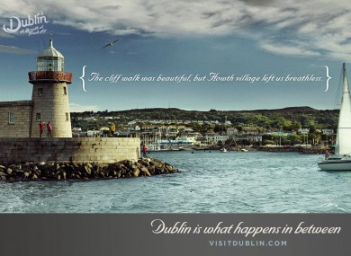 The campaign seeks to promote the events that 'happen in between' the important stuff, as part of a new Visit Dublin campaign.