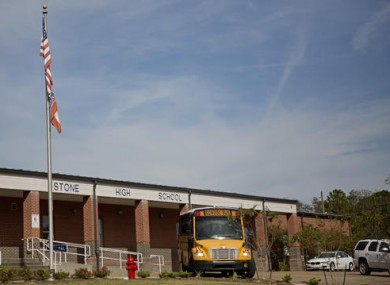 Stone County High School in Wiggins, Mississippi.