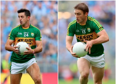 Aidan O'Mahony and Stephen O'Brien both won out in today's quarter-final ties.