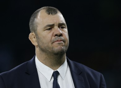 Cheika spent over five years as head coach at Leinster.