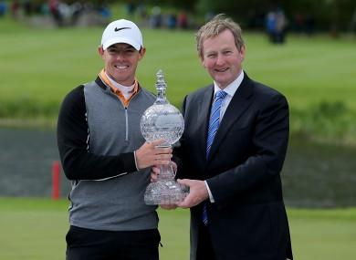 McIlroy won the 2016 Irish Open at the K Club.
