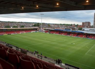 Crewe's Alexandra Stadium