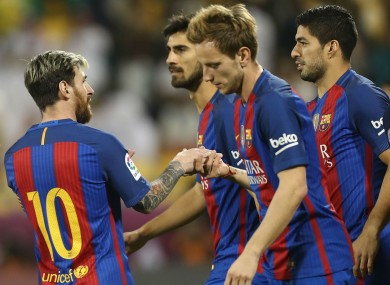 Barcelona s €30m striker finally bags first goal for the club · The42 9cbad18939e