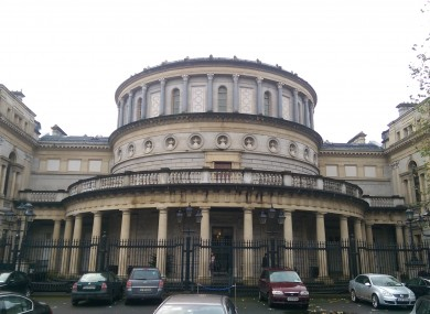 The National Museum of Ireland, neighbour to Leinster House, was chosen as the best temporary location for the Seanad.