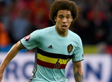 Belgian midfielder Axel Witsel.