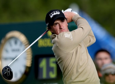 Dunne's strong start yesterday has paid off.