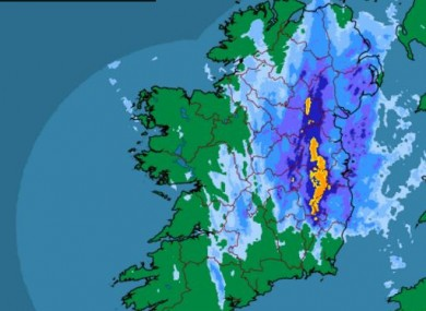 Rainfall radar