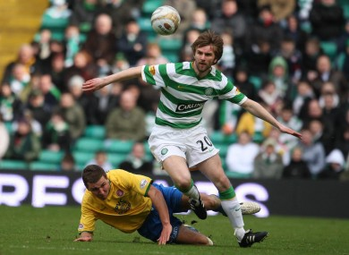 McCourt playing for Celtic back in 2009.