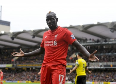 On his way to Palace? Mamadou Sakho.