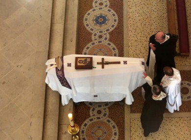 The funeral of Cardinal Desmond Connell took place this morning.