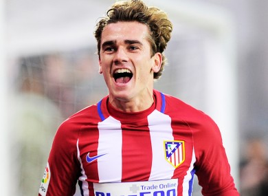 Antoine Griezmann has been linked with Man United of late.