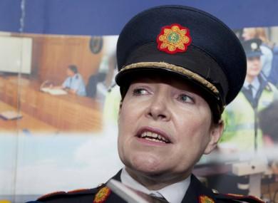 Garda Commissioner Noirin O'Sullivan