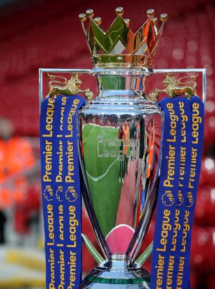 Premier League trophy (file pic).