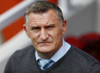 New Blackburn Rovers head coach Tony Mowbray.