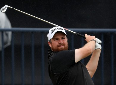 Shane Lowry (file photo).