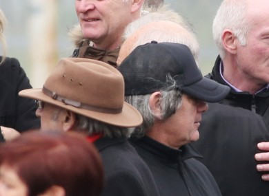 Gerry 'The Monk' Hutch was last seen in public at his brother's funeral last year.