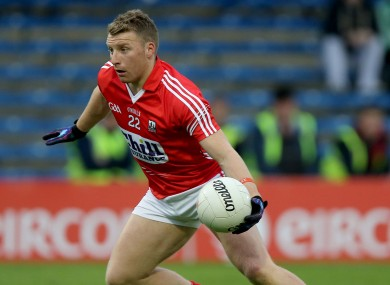 Cork footballer Brian Hurley.
