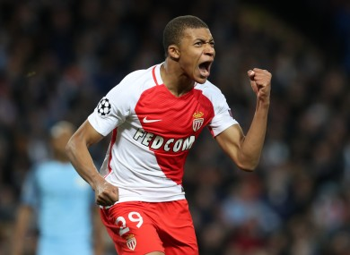 Gifted Teenager Kylian Mbappe Superb Again As Monaco Make It 82