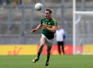 Mark Griffin in action during the 2016 All-Ireland championship.
