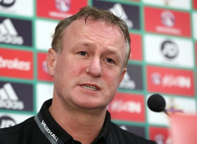 Michael O'Neill has three years left on his Northern Ireland contract.