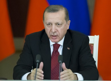Turkey's President Recep Tayyip Erdogan has hit out at the Dutch government.