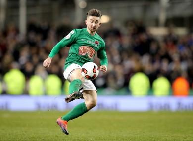 Cork City's Sean Maguire.