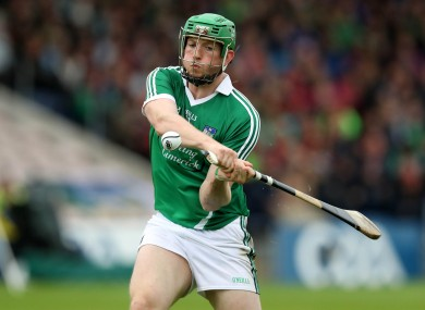 Shane Dowling hit 1-7 for Limerick tonight.