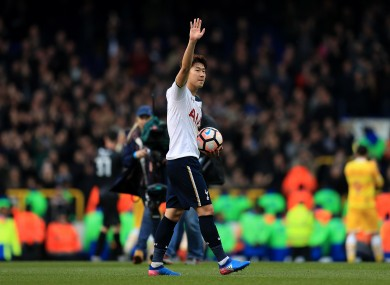 85094406d24c8 Alleged racist abuse of Spurs forward Son condemned by Millwall boss Harris