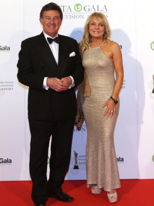 Bill Cullen and Jackie Lavin at the Iftas in 2015