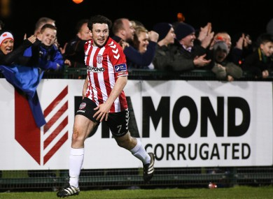 Derry's Barry McNamee (file pic).