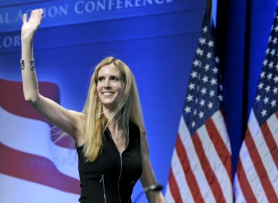 Ann Coulter at a conservative conference in Washington in 2011.
