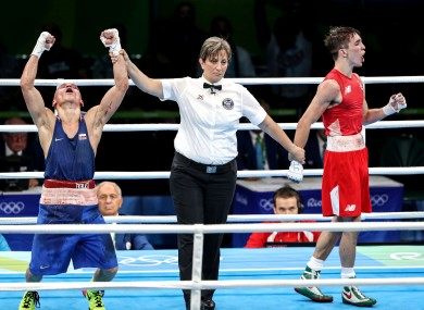 Michael Conlan has turned professional after Rio.