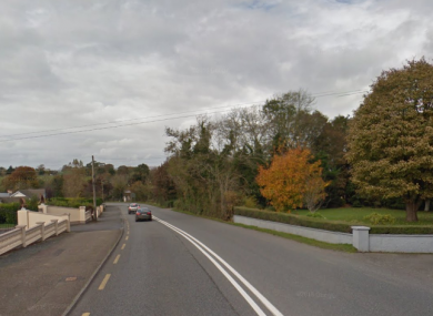 The crash happened on the N30 near New Ross, Co Wexford.