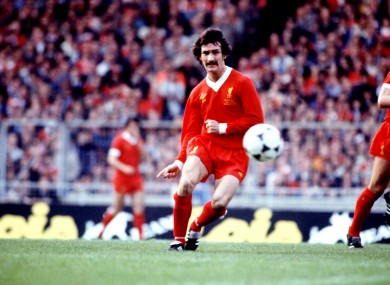 Terry McDermott won five league titles and three European Cups with Liverpool.