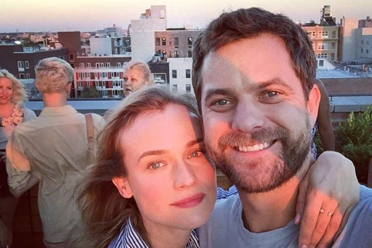 Joshua Jackson posted an adorable Instagram about Diane Kruger, and