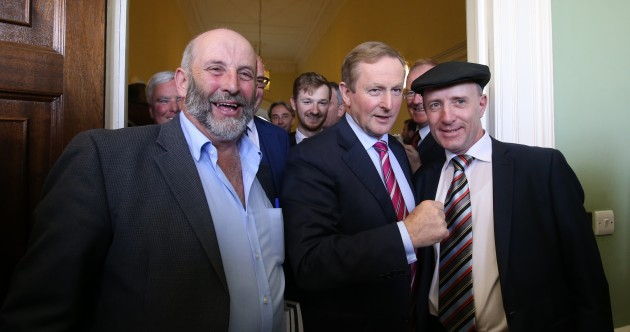 Looking forward to tomorrow, Taoiseach? 'I look forward to every day'