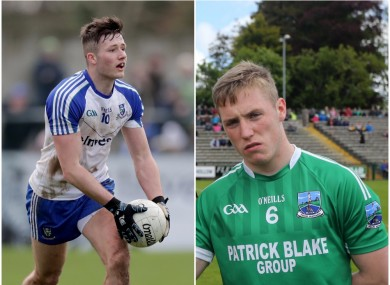 Monaghan's Dessie Ward and Fermanagh's Cian McManus are both set for their senior debuts.