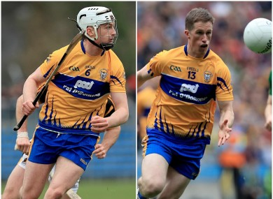 Conor and Eoin Cleary aim to leave their mark with Clare.