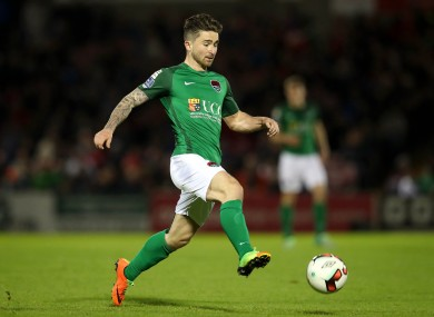 Cork City striker Sean Maguire.