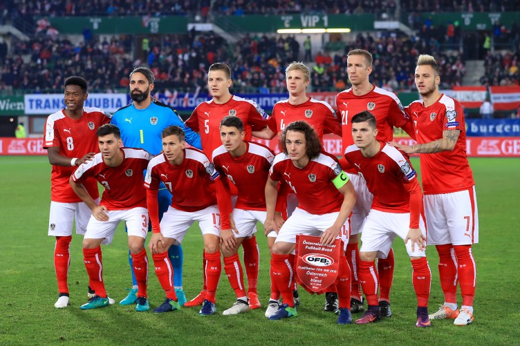 Image result for Austria soccer team 2017
