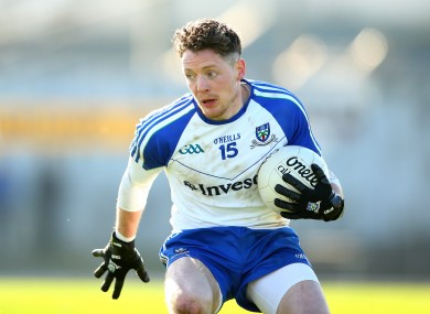 Monaghan's Conor McManus is a key attacking weapon for the Farney men.