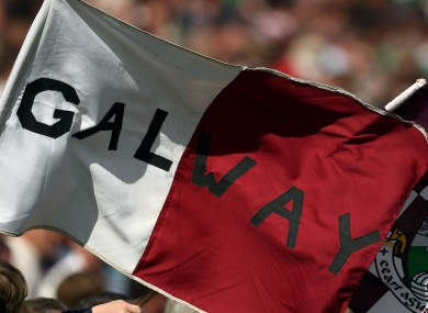 General view of a Galway flag (file pic).