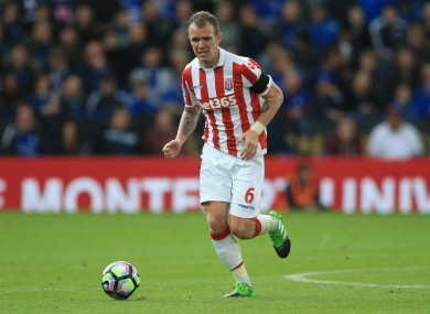 Whelan has made almost 300 Premier League appearances for Stoke.