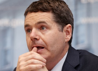 Minister Paschal Donohoe called the pay deal