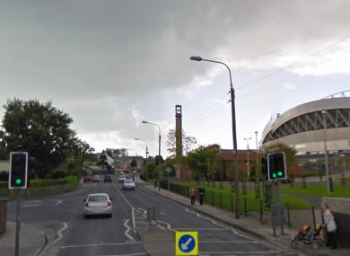 The Kileely Road in Limerick.