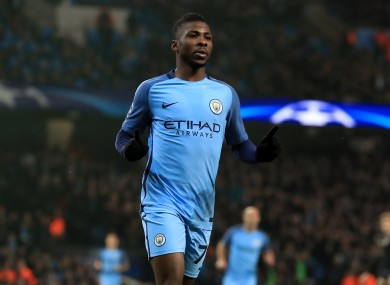 Kelechi Iheanacho could be set to join Leicester.